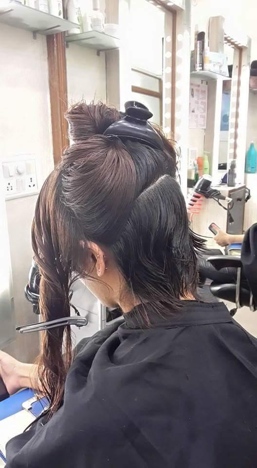 blow dry hair plus